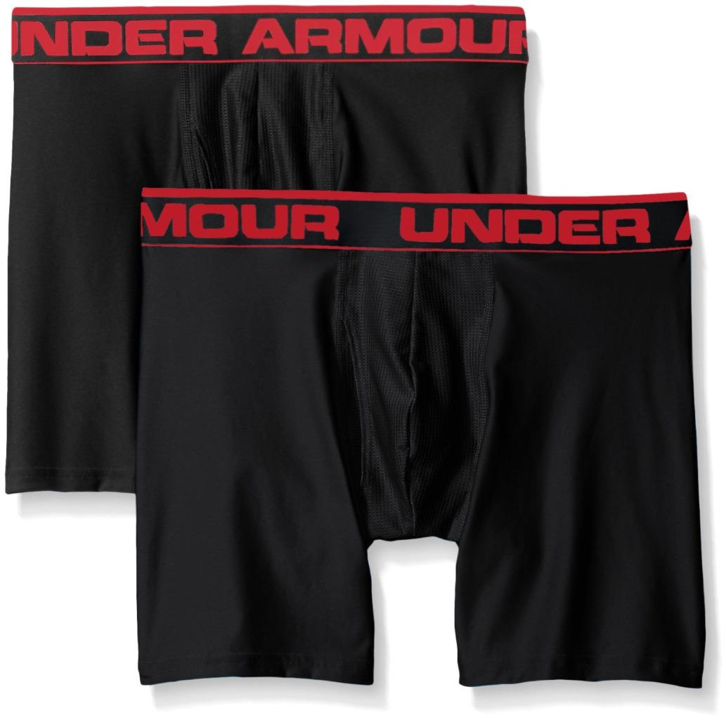 Under Armour Men's Original Series 2-Pack Boxerjock Boxer Briefs 1282508 MDN/ATG