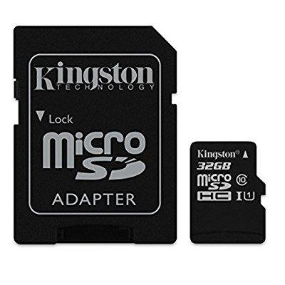 Professional Kingston 32GB LG Stylo 3 MicroSDHC Card with custom formatting and Standard SD Adapter! (Class 10,