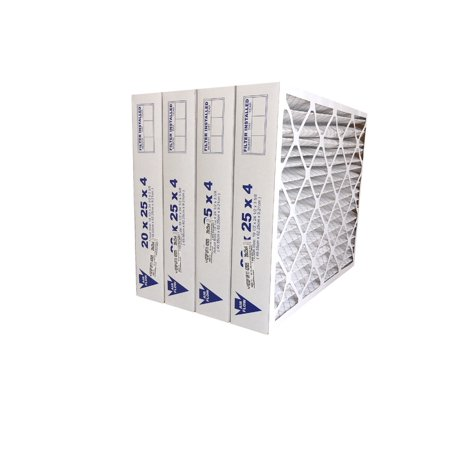20x25x4 MERV 11 Furnace Filter - FREE SHIPPING - 4 Pack - image 1 de 1