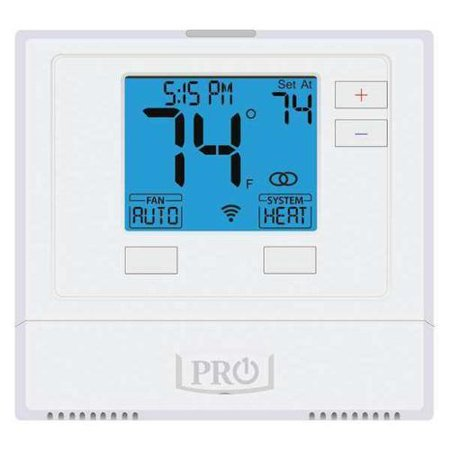 Pro1 Iaq WiFi Thermostat, 7 Day Programmable, Stages 1 Heat/1 Cool, (Wi Fi 7 Day Programmable Thermostat Rth6580wf)
