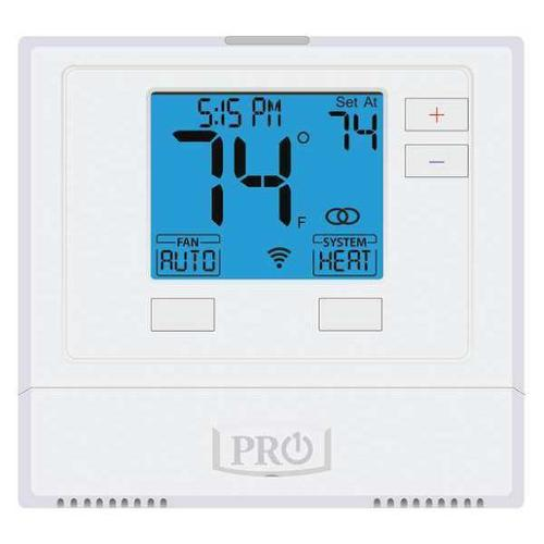 PRO1 IAQ WiFi Thermostat, 7 Day Programmable, Stages 1 Heat/1 Cool, T701i