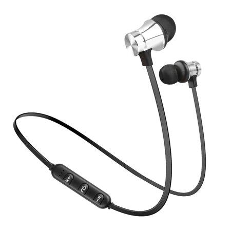 Wireless In-Ear Earbuds Headphone Bluetooth 4.2 Stereo Earphone Headset Magnetic (Earphone Magnetic)