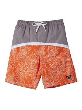 777feeb8c4 Product Image Palm Print Swim Trunk (Big Boys)