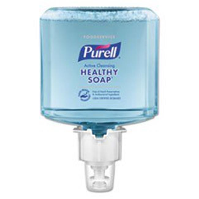 GOJO Industries 648602 1200 ml Purell Foodservice CRT Healthy Soap Active Cleansing ES6 Touch-Free Foam Dispenser