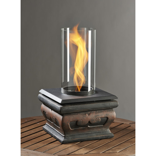 The Outdoor GreatRoom Company Serenity Glass Gel Tabletop Fireplace