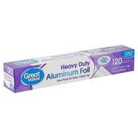 Great Value 120 sq ft Heavy Duty Aluminum Foil