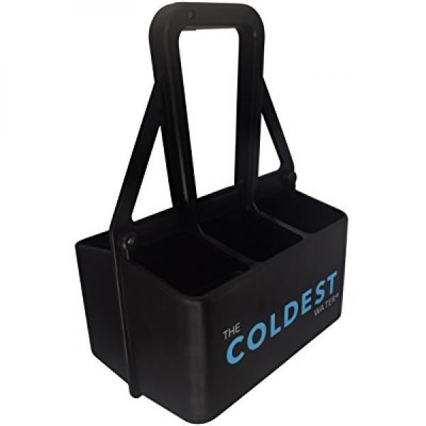 The Coldest Water Sports Bottle Large Carrier - Carries 6 Stainless Steel Water Bottles for Sports and Outdoors (No Bottles included)