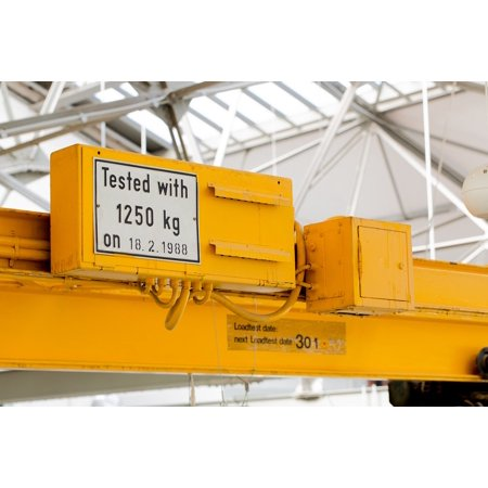 Steel Hull - Canvas Print Hall Kg Restored Steel Crane Kilo Metal Stretched Canvas 10 x 14