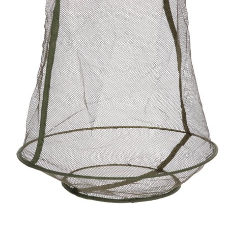 3 Layers Quick-dry Fishing Net Trap Net Mesh Net Folding Shrimp Nets Cage Fishing Tackle 4 Sizes - image 4 of 7