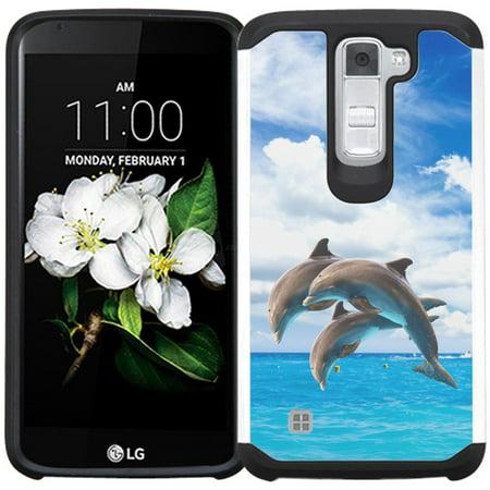 low priced 5b48e b1fa5 LG K7 Case / LG Tribute 5 Case / LG Treasure LTE L52VL Case / LG Escape 3  K373 Case - Armatus Gear (TM) Slim Hybrid Armor Case Dual Protective Phone  ...