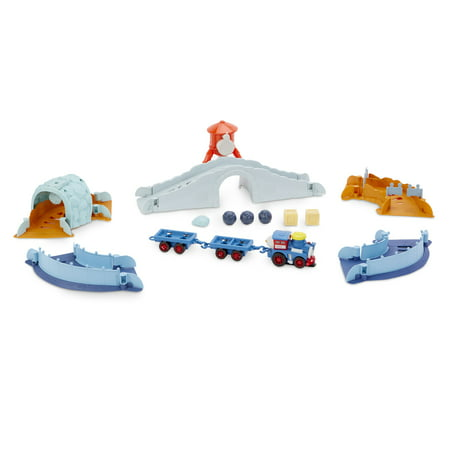 Little Tikes Slammin' Racers Runaway Railroad Set and Train with Sounds Little Tikes Train