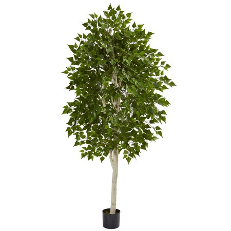 Nearly Natural 6 ft. Birch Artificial Tree ()