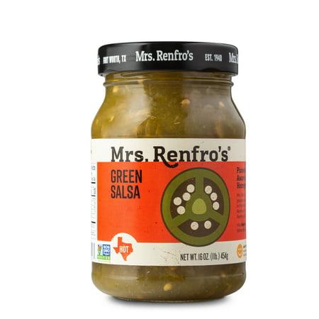 Renfro Foods Mrs Renfros Green Salsa, 16 oz