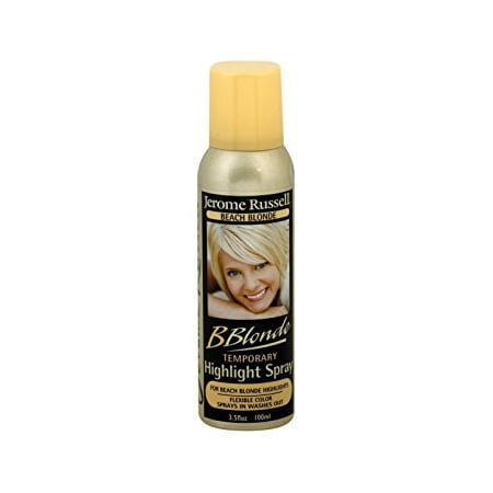 Jerome Russell Highlight Spray, Beach Blonde, 3.5 (Best Products For Dyed Blonde Hair)