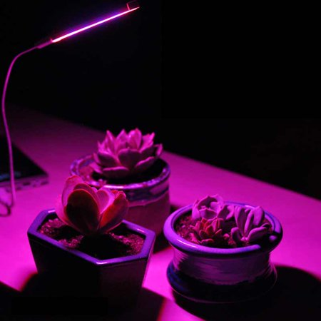 14 LED Full Spectrum USB Plant Grow Light for Indoor Hydroponic Plant Vegetable Cultivation Horticulture Industrial