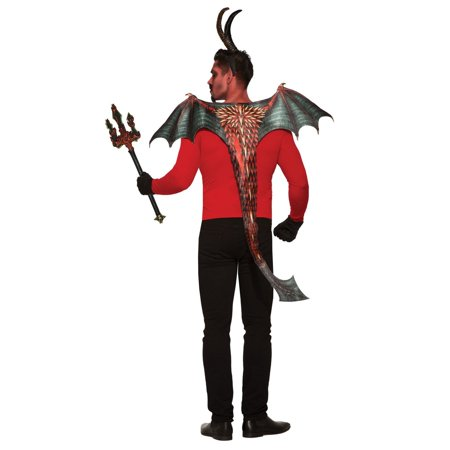 Demon Wing And Tail Set Halloween Costume Accessory - Samhain Demon Of Halloween