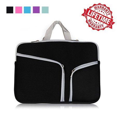 IClover 15 Inch Waterproof Thickest Protective Slim Laptop Case for Macbook Apple Samsung Chromebook HP Acer Lenovo Portable Laptop Sleeve Liner Package Notebook Case Bag Sleeve Bag