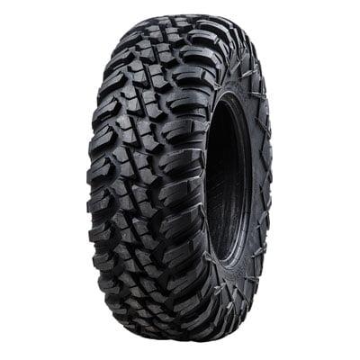 Terrabite Radial Tire 27x9-12 Medium/Hard Terrain for Honda Pioneer 700-4 2014-2018 (Honda Prelude Tires)