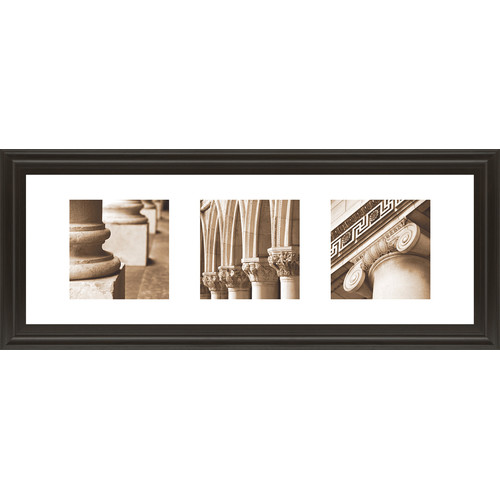 Classy Art Wholesalers Architectual Triptych I by Tony Koukos Framed Graphic Art by Classy Art Wholesalers