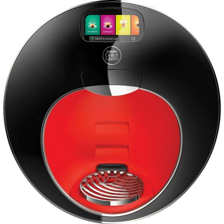 Automatic Brewer - Nescafe Dolce Gusto, NES98836, Majesto Automatic Coffee Brewer, 1, Black,Red