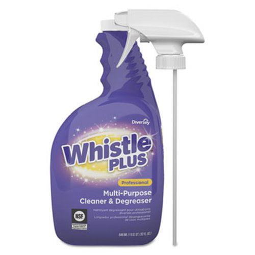 Diversey Whistle Plus Multi-Purpose Cleaner/Degreaser, 4 Bottles (DVOCBD540571)