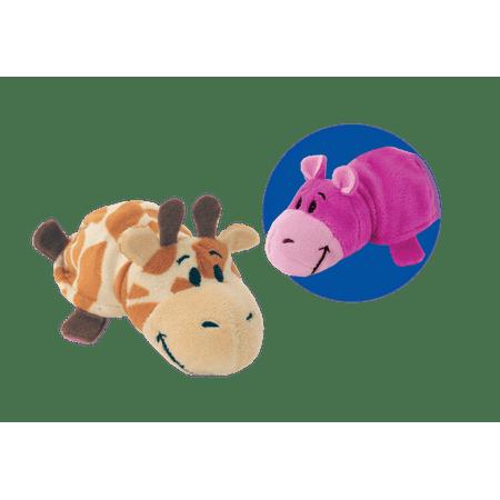 5 Inch Hippo To Giraffe Flipazoo 2 In 1 Plush