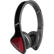 Monster 128485 DNA On_Ear Headphones with Apple ControlTalk _Black_Red_ by Monster