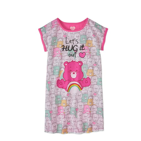 Care Bears Big Girls' Lets Hug It Out Nightgown - Nightgown Girl
