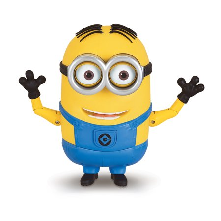 Despicable Me 3 - Talking Minion Dave Action Figure
