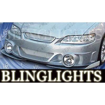 Vis Racing Types (1994-2002 Honda Accord AIT VIS Racing Evo Style Body Kit Fog Lamps Bumper Driving Lights Foglamps)