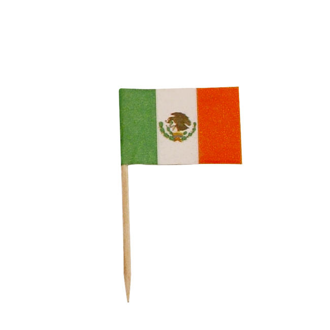 Mexican Flag Pick