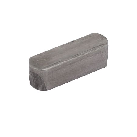 16mmx5mmx5mm Carbon Steel Key Stock Keystock Gray 25pcs - image 1 of 3