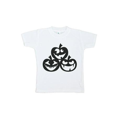 Custom Party Shop Kids Pumpkins Halloween Tshirt - 3T Tshirt