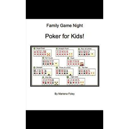 Family Game Night: Poker for Kids! - eBook - Poker Night Theme
