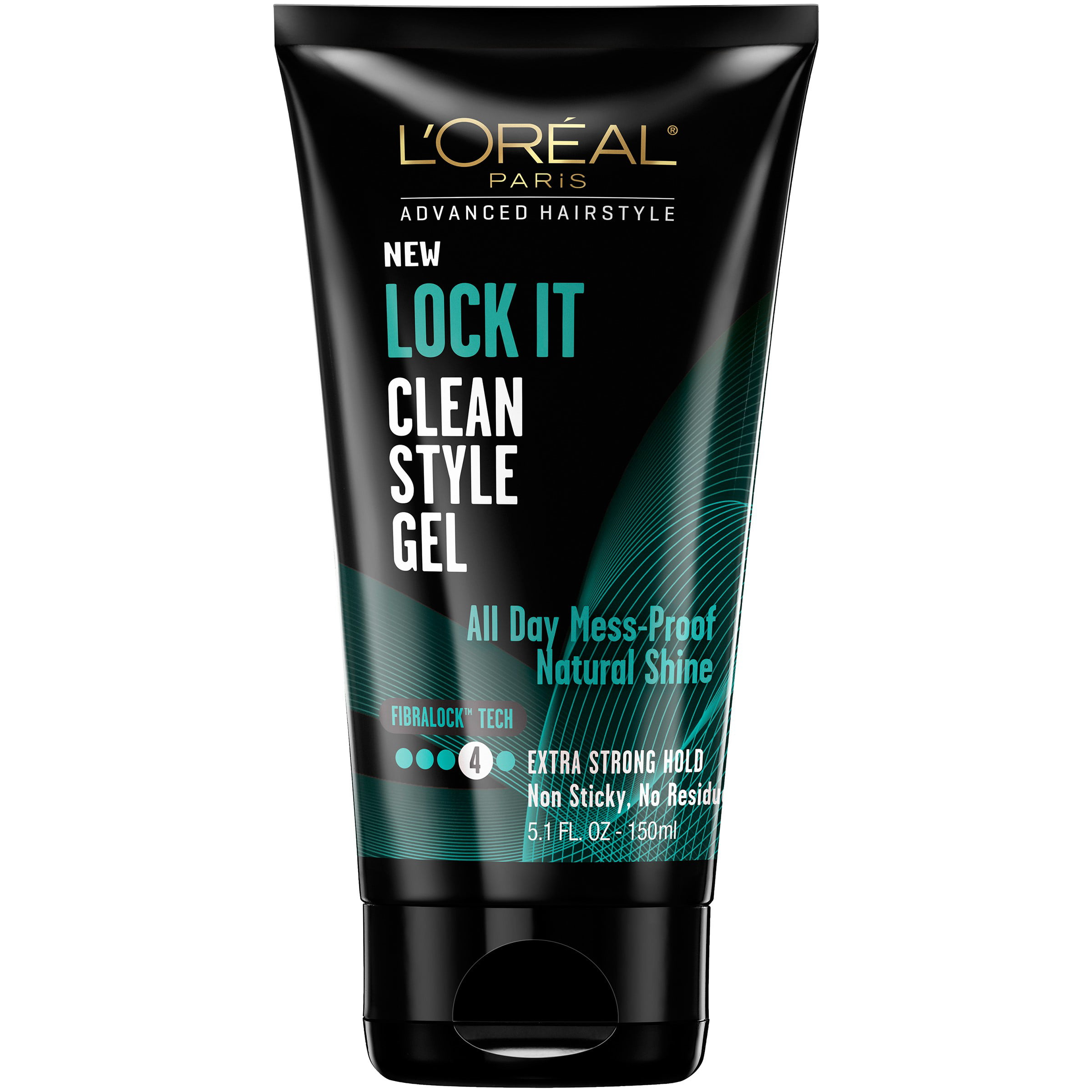 LOreal Paris Advanced Hair Style Lock It Clean Style Gel  Fl - Hair gel