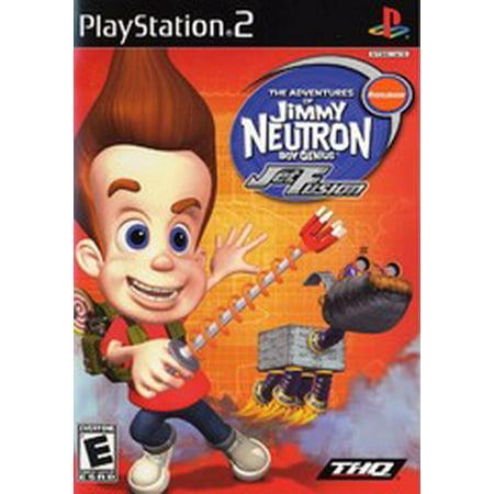 Jimmy Neutron Gba (Jimmy Neutron Jet Fusion - PS2 Playstation 2)