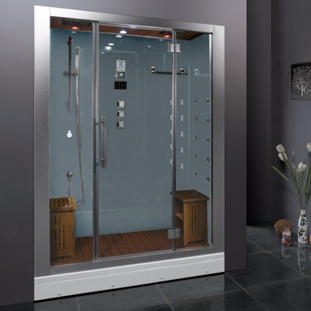 Steam Shower (White) - Ariel Platinum