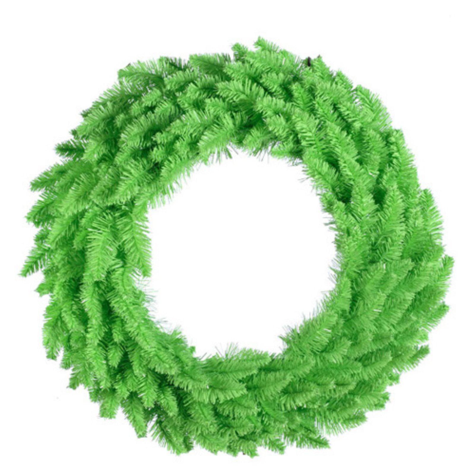 Vickerman 36 in. Copper Fir Pre Lit Wreath