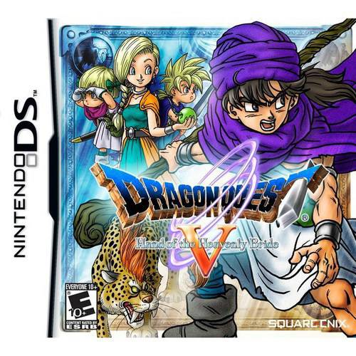 Nintendo DS - Dragon Quest V Hand Of The Heavenly Bride