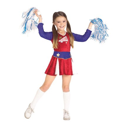 Girl's Retro Cheerleader Costume Rubies - Retro Costume Ideas