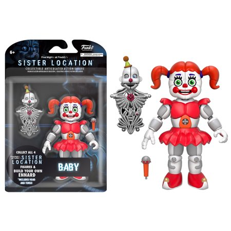 Funko 5  Articulated Action Figure  Five Nights At Freddys   Baby