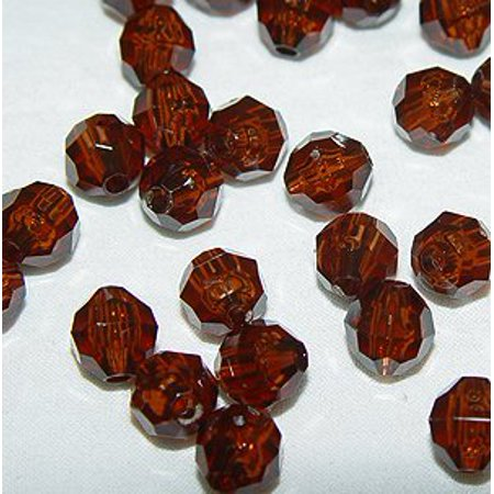 Beer Storage - JOLLY STORE Crafts 6mm Faceted Beads Root Beer Color, 500pcs