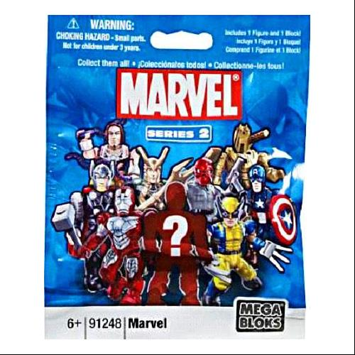 Mega Bloks Marvel Series 2 Minifigure Mystery Pack by