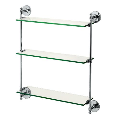 Gatco GC1394 3 Tier Vanity Shelf from the Premier Series
