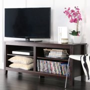 Wood Tv Media Storage Stand For S Up To 60 Multiple Finishes