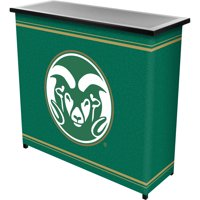Colorado State 2-Shelf Portable Bar with Carrying Case