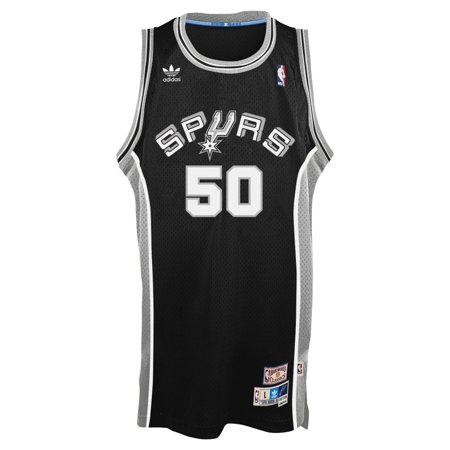 David Robinson San Antonio Spurs Adidas NBA Throwback Swingman Jersey Black by