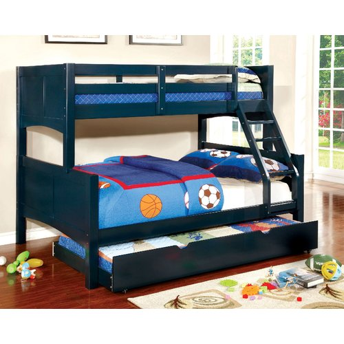 Zoomie Kids Kolb Twin Over Full Bunk Configuration Bed with Trundle