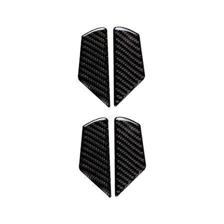Carbon Fiber Trim Car Interior Door Handle Frame Decor Stickers for 7 2013-2017 Carbon Fiber Interior Trim Applique