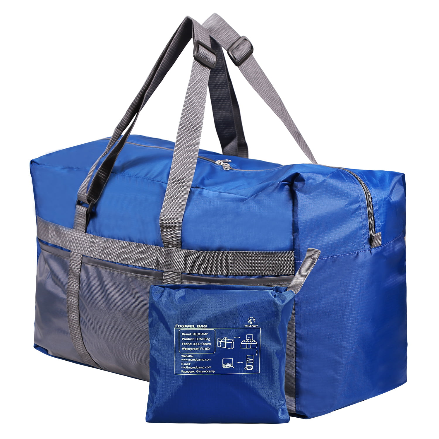 Travel Luggage Duffle Bag Lightweight Portable Handbag Parrot Large Capacity Waterproof Foldable Storage Tote